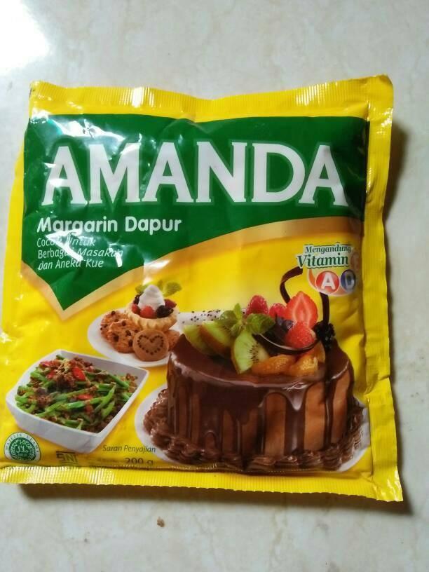 Margarine/Margarin+Amanda Serbaguna 200gr+Mentega