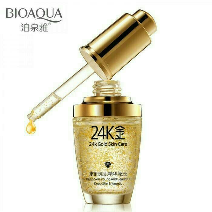 Bioaqua gold 24k serum skin care essence