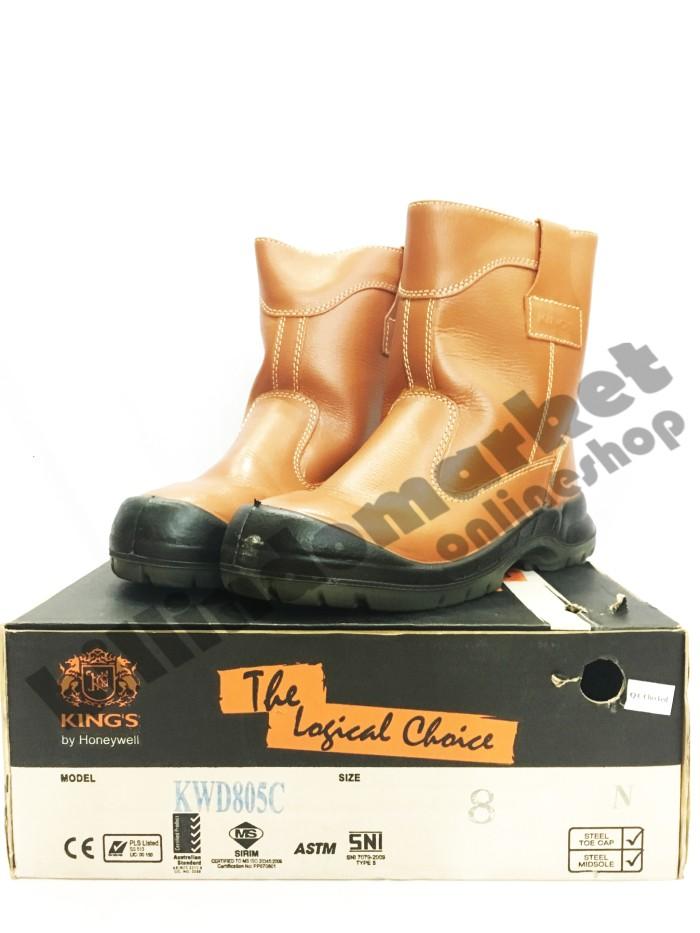 Sepatu Safety Shoes KING s KINGS KWD 805 C Steel Toe Cap   Midsole 3870ce883d