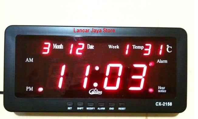 Foto Produk Jam gantung Digital CX-2158 dari Lancar Jaya Store