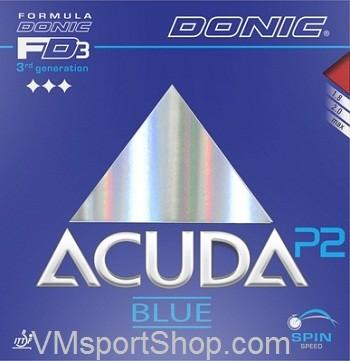 harga Donic acuda blue p2 - karet rubber bet bat pingpong tenis meja Tokopedia.com