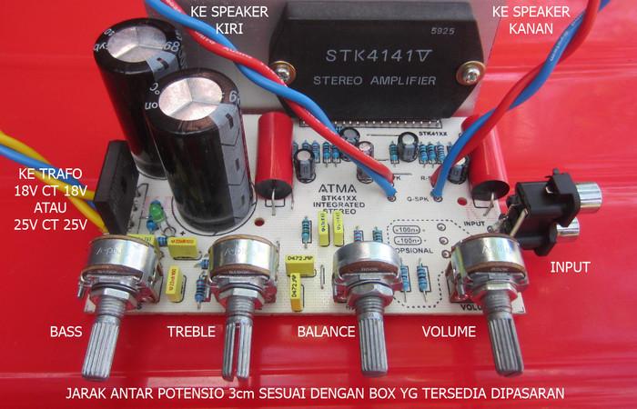 harga Kit integrated stereo amplifier stk 4141 v powerful hi-fi & karaoke Tokopedia.com