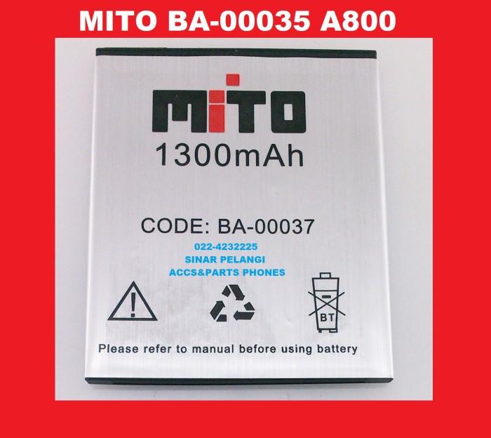 harga Battery batre baterai mito ba-00035 a800 2000mah ori  903960 Tokopedia.com