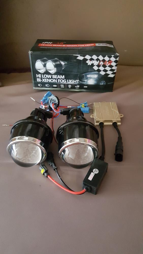 harga Hid foglamp 5500k low/high beam projector Tokopedia.com