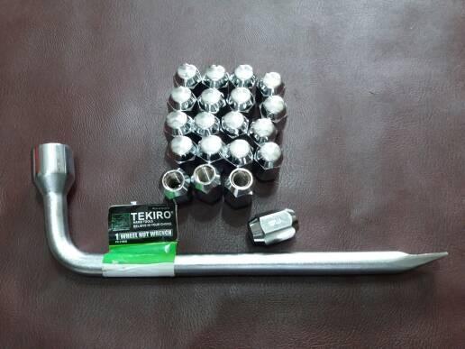 harga Mur roda kijang super - grand (20pcs) + kunci roda 21mm Tokopedia.com