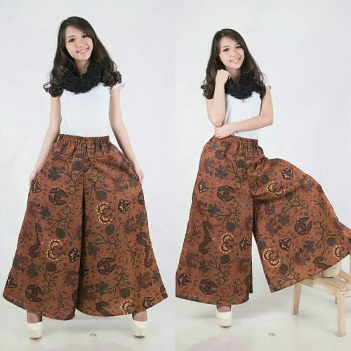 harga Celana kulot rok mocacino long pant jumbo batik Tokopedia.com
