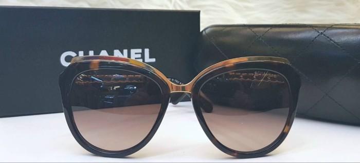 Chanel Chain Sunglasses Mirror Quality   Kacamata Hitam Wanita Branded -  Blanja.com 2729b9c985