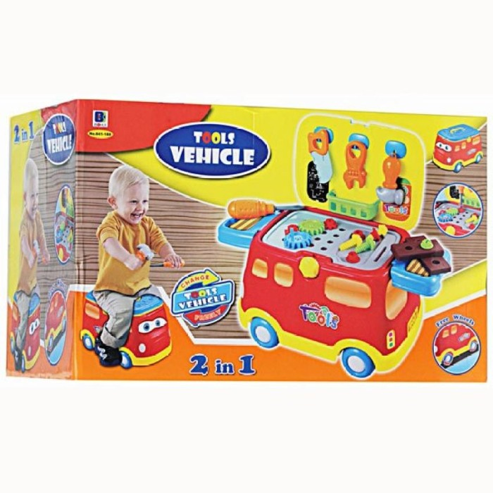Atham Toys Balok Bangun Kayu 42 S WIKIHARGA Source · 2in1 Tool Vehicle Mainan Tool Set