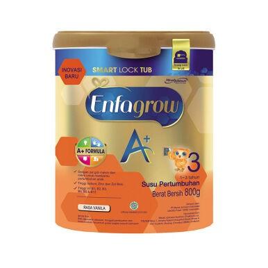 Enfagrow a+ 3 susu vanila tin 800g