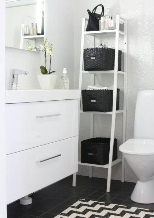 Lerberg Rak Putih Ikea / Rak Besi Susun Multifungsi / 35x35x148cm - Blanja.com