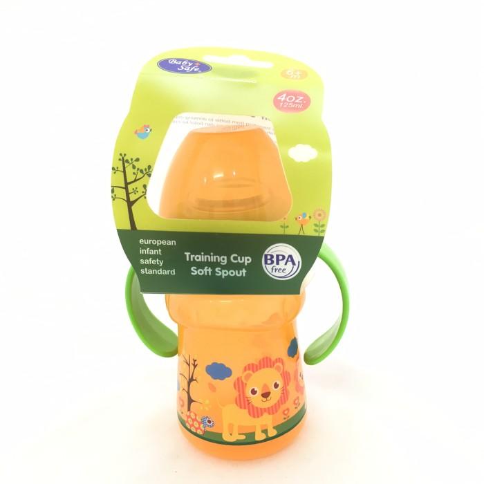 Baby Safe Training Cup w Silicone Spout Botol Minum Bayi Anak P12AP005