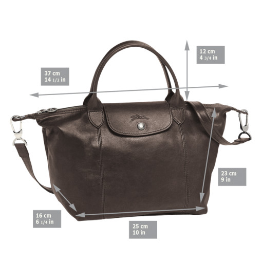 A class Le Pliage Cuir Top-Handle S long champ bag tas handbag woman