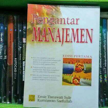 harga Pengantar manajemen edisi pertama by ernie trisnawati sule Tokopedia.com
