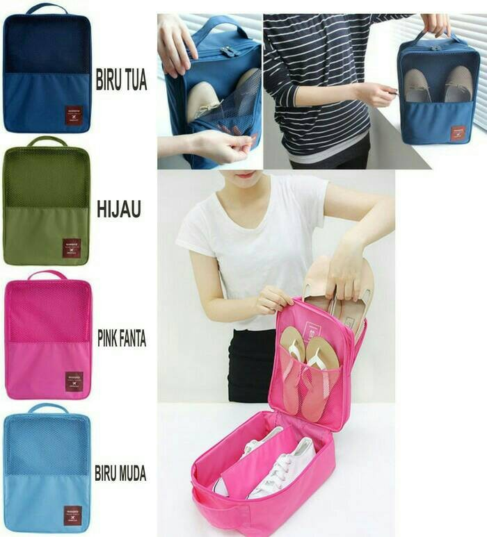 harga Tas sepatu sandal pria / wanita organizer shoes travel bag - a311 Tokopedia.com