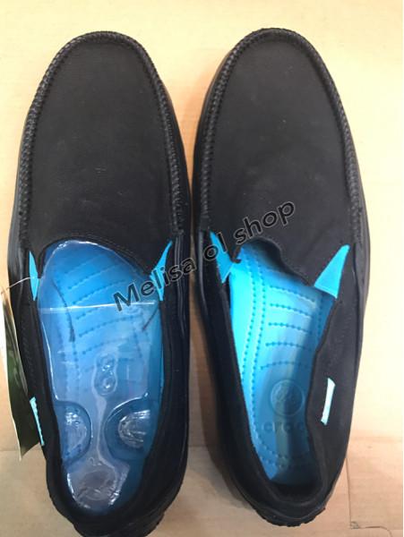Sepatu crocs cowok/crocs tideline sport canvas