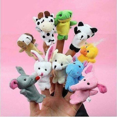 harga Finger puppets - animal set Tokopedia.com