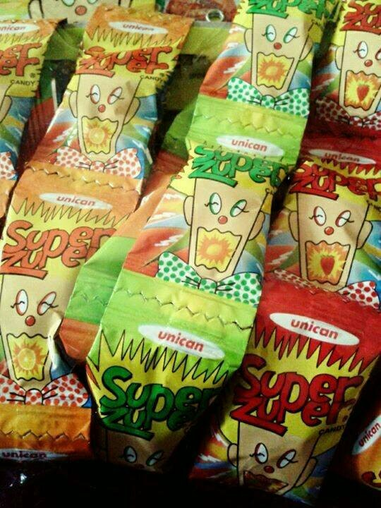 Permen Asem Super Zuper Assorted Sour Candy (isi 50pcs) Permen Jadul