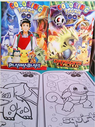List Harga Buku Mewarnai Pokemon Go Terbaru Oktober 2018 Travelbon Com
