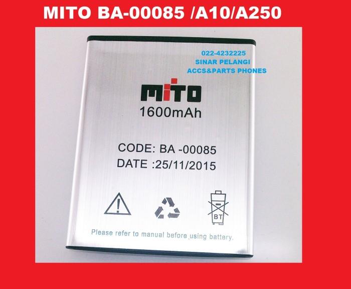 Grs ganti baru 1600mah battery baterai mito ba-00085 a10 a250 903969