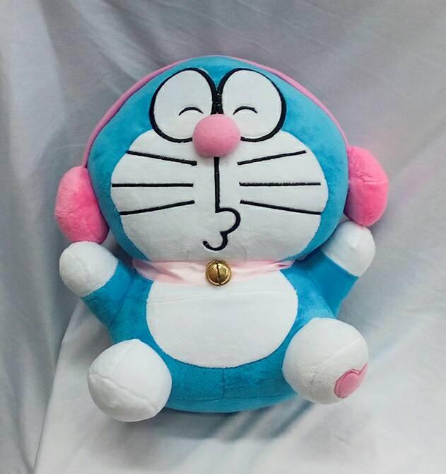 harga Boneka doraemon headphone pink Tokopedia.com