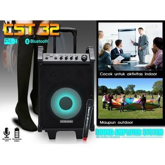 harga Speaker simbadda cst 32n  bluetooth usb mic wireless toa sound ok Tokopedia.com