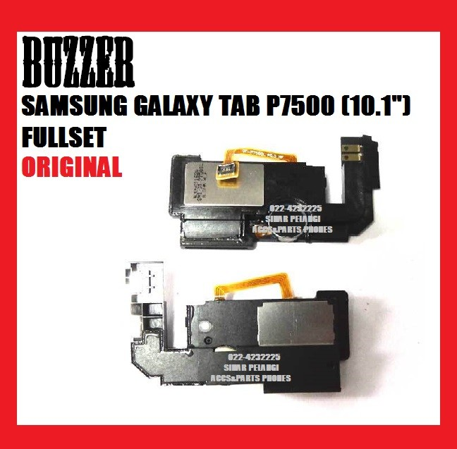 harga Buzzer samsung galaxy tab p7500 (10.1 inch) fullset speaker ori 700862 Tokopedia.com