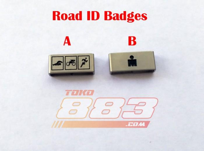 Jual Road ID Badges 18 mm - Jakarta Utara - toko883   Tokopedia