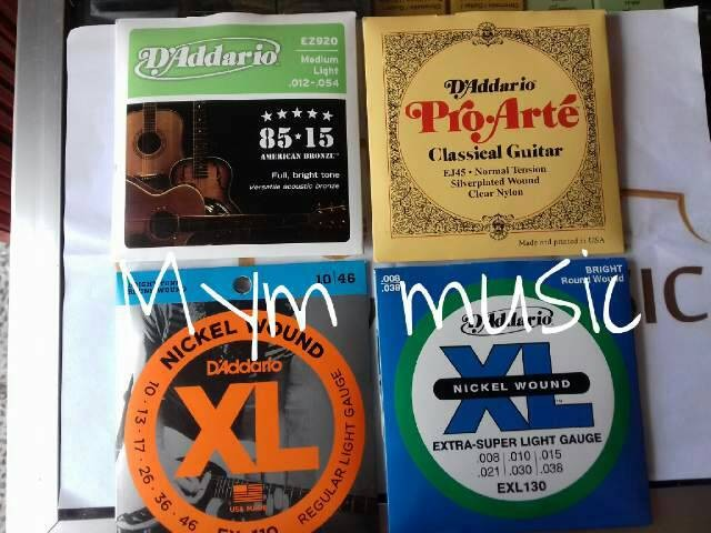 harga Senar gitar akustik elektrik dadario string dan nilon Tokopedia.com