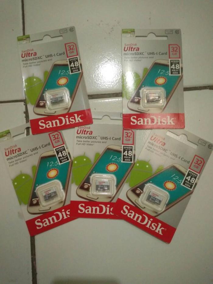 harga Micro sd card sandisk ultra 32gb class 10 kartu memori 32 gb ori 99% Tokopedia.com