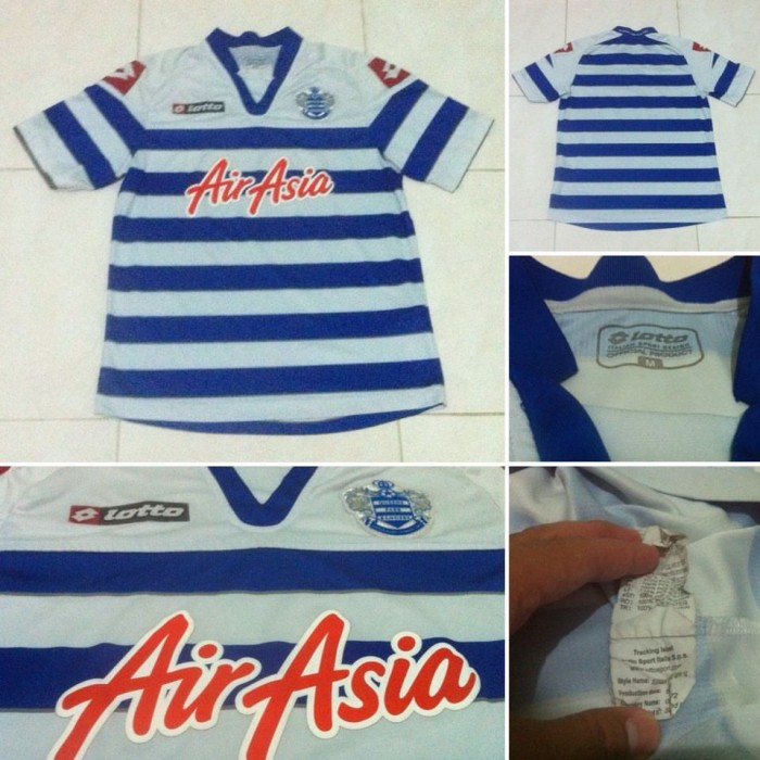 online store d3931 4ca68 Jual JERSEY QPR ORIGINAL HOME 2012/2013 AIR ASIA SIZE M MINT - Kota Bekasi  - RARE Football | Tokopedia