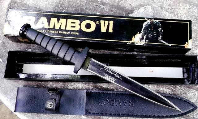 Jual Pisau Rambo 6 Original Tajam   Rambo Knife VI - DKI Jakarta - Toko  Survival 41   Tokopedia