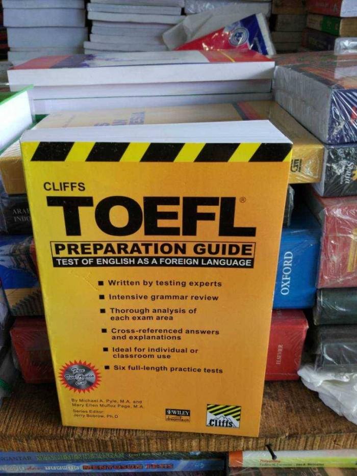 harga Toefl preparation guide by cliffs +cd Tokopedia.com