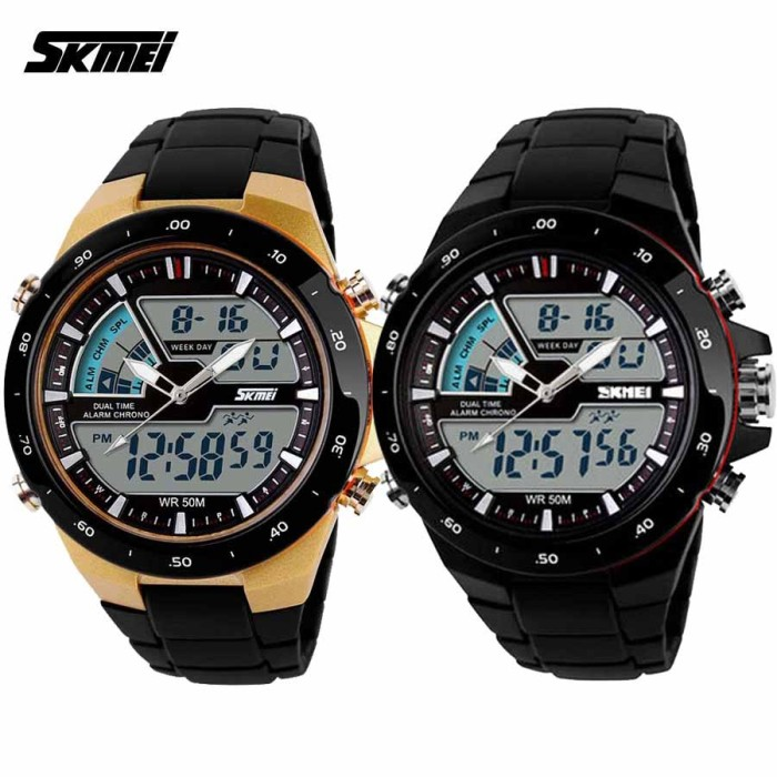 Great Skmei 0989 Sniper Jam Tangan Digigtal Sport Pria Water Source · Jam Tangan SKMEI Original