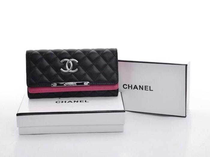 Jual Dompet Chanel Lipat Quilted HITAM Semi Premium Terbaru 2017 ... d645771f81