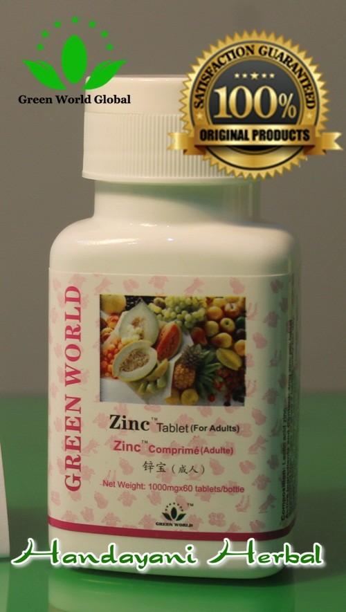 Jual Obat Penambah Nafsu Makan Remaja Dan Dewasa Zinc Tablet For