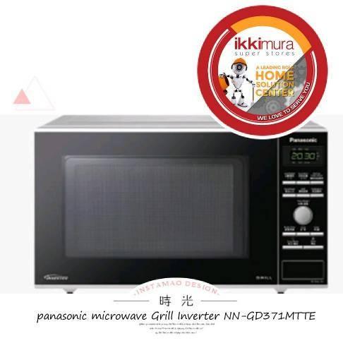 harga Panasonic nn-gd371mtte grill microwave oven Tokopedia.com