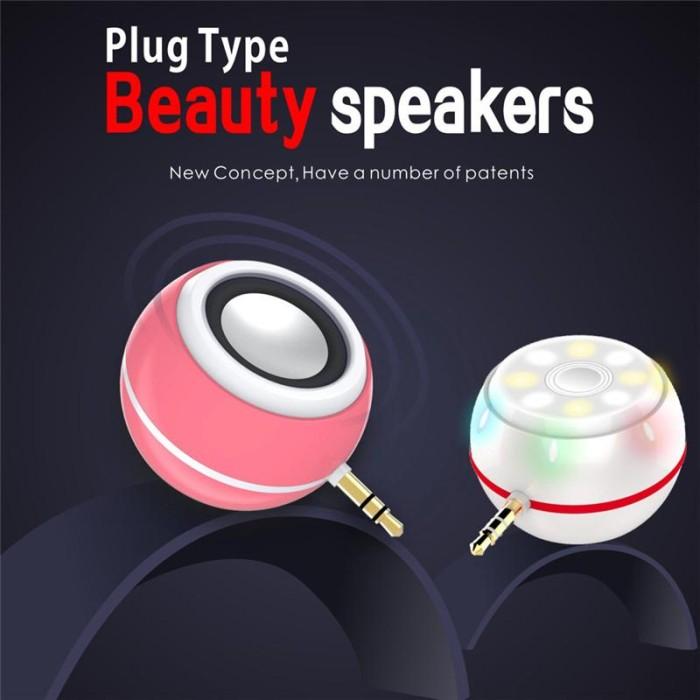 harga (buy 1 get 1) beauty speaker + lampu selfie lamp 2 in 1 lampu disco Tokopedia.com