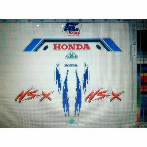 harga Stiker helm honda nsx dan gl series Tokopedia.com