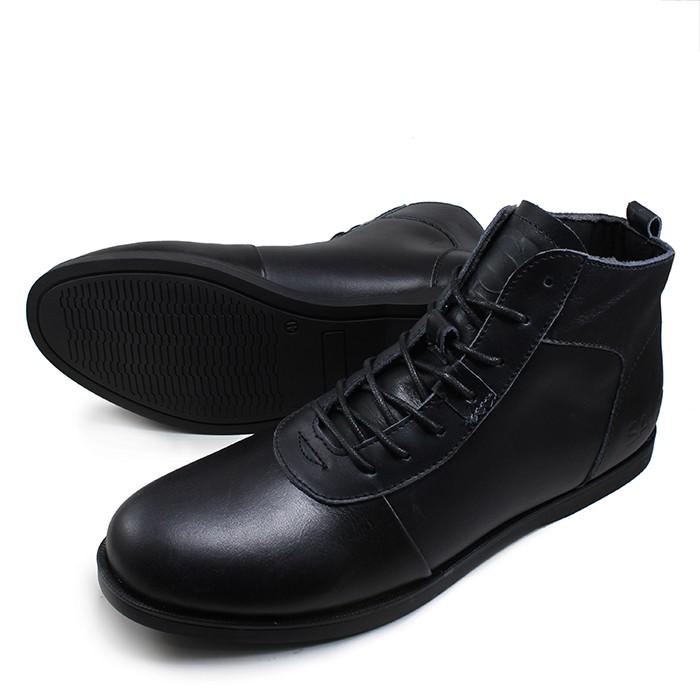 Sepatu pria casual boots sauqi brodo sperry black original footwear