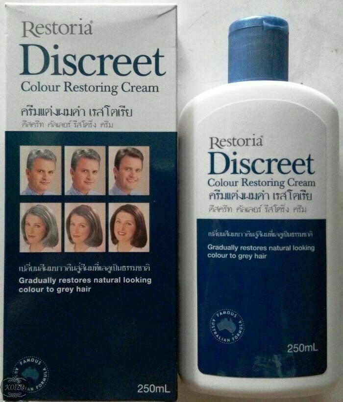 Jual Restoria Discreet Hair Cream Original Minyak Rambut Restoria
