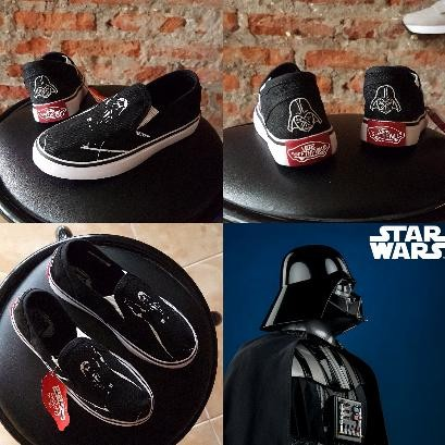 9eed3c50edd094 Jual sepatu kids anak vans slip on darth vader star wars - BIG ...