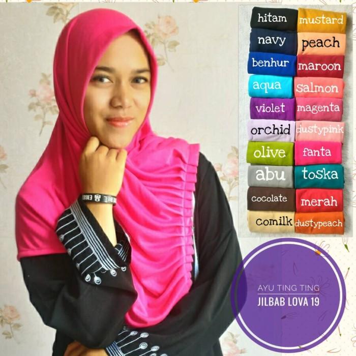 harga Jilbab kerudung hijab bergo syria instan najwa ayu ting ting syar`i Tokopedia.com