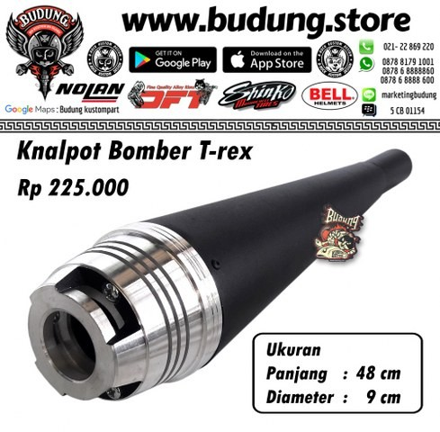 harga Knalpot Custom Japstyle Bober Tirex Tokopedia.com