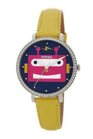 Jual Fossil Watch face robot yellow - Kota Depok - YE Fossil Ku | Tokopedia