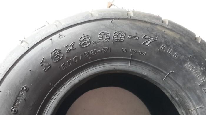 harga Ban atv r7 ring 7 on road uk 16x8.00-7 110cc Tokopedia.com