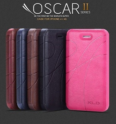 harga Kalaideng oscar ii series - flip case apple iphone 4/4s  black/hitam Tokopedia.com