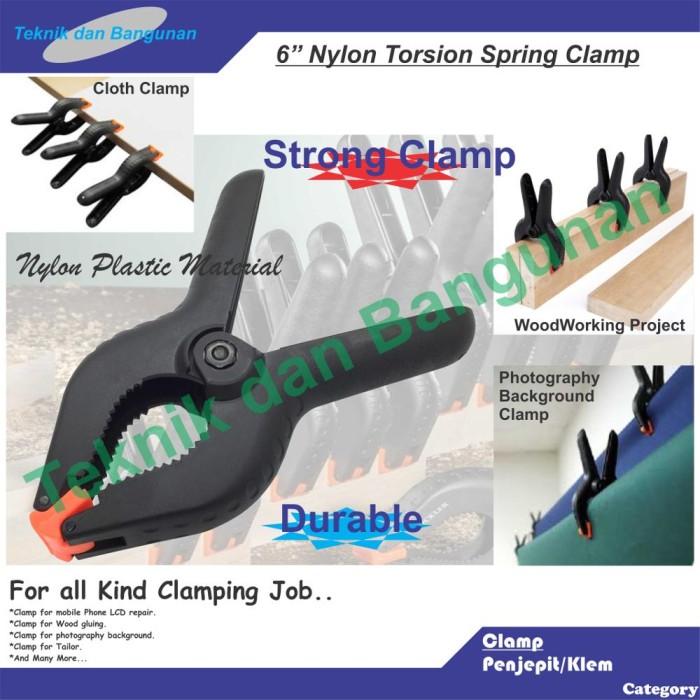 """Foto Produk WoodWorking Spring Clamp 6"""" dari Teknik dan Bangunan"""