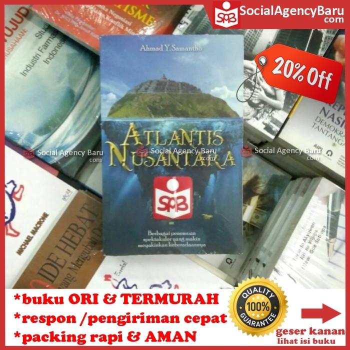 harga Atlantis nusantara berbagai penemuan spektakuler - ahmad y. samantho Tokopedia.com
