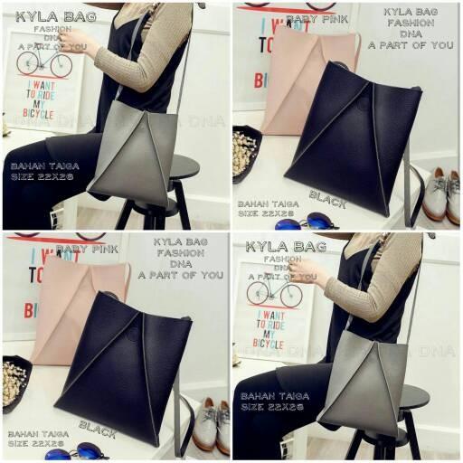 Foto Produk tas fashion wanita murah slingbag kyla grosir tas selempang dari Then4Shop