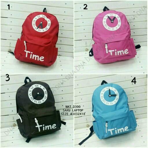 Foto Produk tas sekolah wanita murah backpack time dari Then4Shop